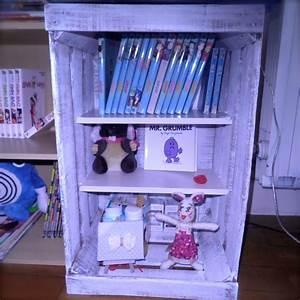 Recyclage Petite Cagette : fabriquer un meuble avec une cagette diy bricolage recyclage home rangement cagette ~ Nature-et-papiers.com Idées de Décoration