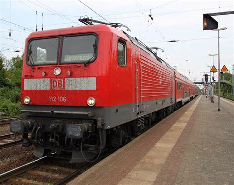 Db-regio 112 106-0(ex Bw Cottbus Jetzt Bw Rostock)steht