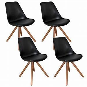 Chaise Noire Design : chaise design noir ~ Teatrodelosmanantiales.com Idées de Décoration
