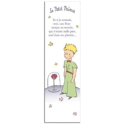 le petit prince au bureau marque pages le petit prince quot une fleur unique au monde