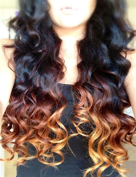 Cool Hairstyles For Ombre Hair by Diy Ombr 233 For Hair Hair Curly Hair Styles