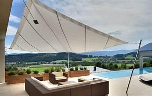 sonnensegel fur terrasse und balkon schoner wohnen With markise balkon mit tapeten für küche