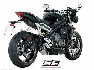Street Triple 2017 : sc1 r exhaust by sc project triumph street triple r 765 2017 t18 93 ~ Maxctalentgroup.com Avis de Voitures