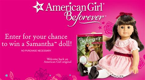Fred Meyer Bedding by Enter To Win American Samantha Doll
