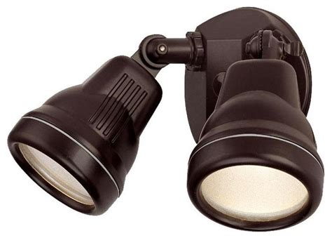 architectural bronze 100 watt quartz halogen outdoor