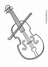 Coloring Violin Printable Instruments Musical Instrument Banjo Sheets Clip Template Worksheets Drawing Colouring Malvorlagen Ausdrucken Dibujos Ktm Musikinstrument Getcolorings Greta sketch template