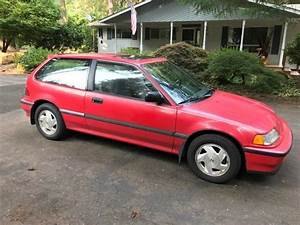 1990 Honda Civic Si Hatchback  5 Speed Transmission  All