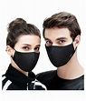 Black virus protection face mask: Buy Black virus ...