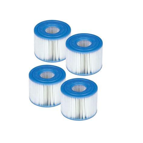 Filtre Spa Intex Lot De 4 Cartouches Pour Spa Intex Raviday Piscine
