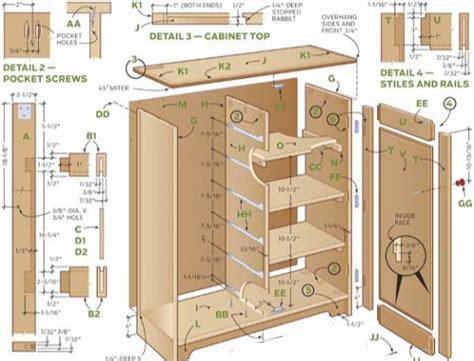 storage cabinet plans woodwork plans storage cabinets