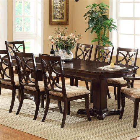 Furniture Beautiful White Dark Brown Wood Glass Classic