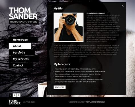 Best Photography Website Free Js Website Template Photography