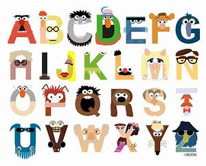 mike baboon design ladies and gentlemen it39s the With show alphabet letters