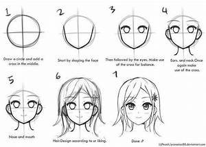 step by step draw an anime character | Drawing | Pinterest ...