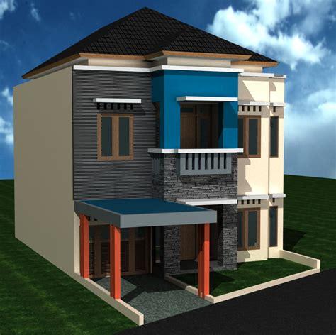 69 Desain Rumah Minimalis Dengan Warung  Desain Rumah