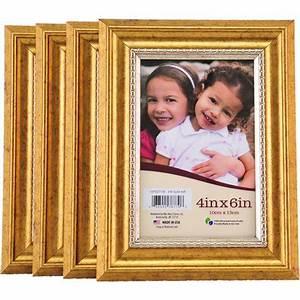 Bilderrahmen 98x37 5 : 4x6 gold picture frames set of 4 ~ A.2002-acura-tl-radio.info Haus und Dekorationen