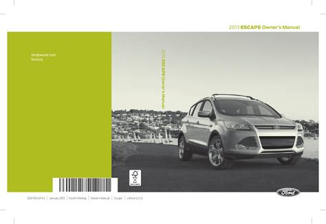 ford escape owners manual  give   damn manual