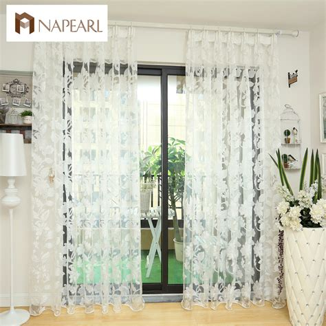 kitchen door curtains tulle curtains floral design window treatments white