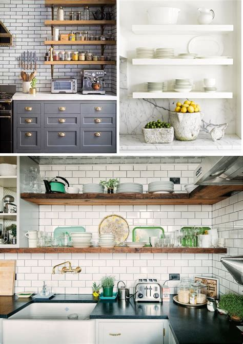 open shelves  kitchen ideas open shelves yay  nay