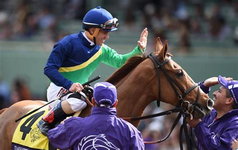 breeders cup turf anita santa york breds horses give sun another race mare pat thoroughbred castellano javier filly won