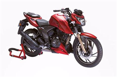 Tvs Apache Rtr 200 4v 2019 by Updated 2017 Tvs Apache Rtr 200 4v Launched Autocar India