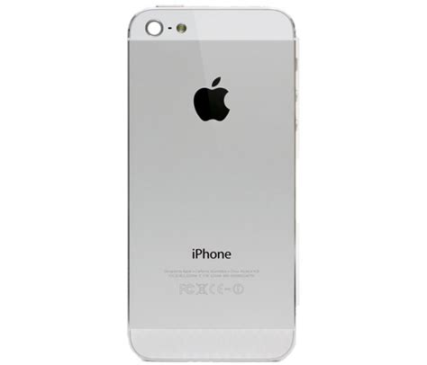 how to backup iphone 5 iphone 5 back housing replacement silver
