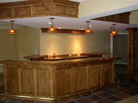 Building A Bar In The Basement by Remodeling 171 Combs Builders Inc