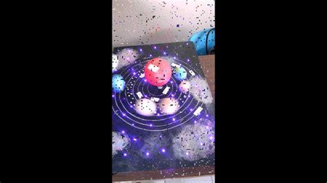 maqueta sistema solar con movimiento youtube