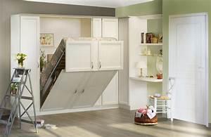 Lit Dans Armoire : melamix modulance ~ Premium-room.com Idées de Décoration