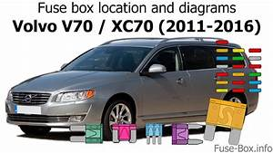 Fuse Box Location And Diagrams  Volvo V70    Xc70  2011-2016
