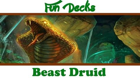hearthstone decks druid beast hearthstone tgt beast druid decks