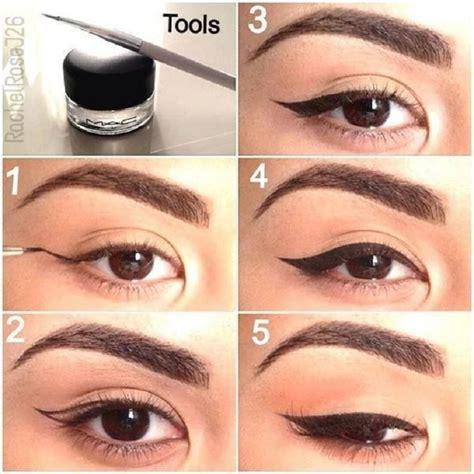 eye liner en pot winged eyeliner tutorial step by step style arena