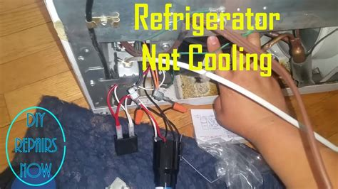 refrigerator not cooling refrigerator compressor relay ge gbsc0hcxarww compressor not