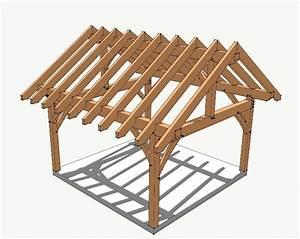 16x16 Timber Frame Plan - Timber Frame HQ