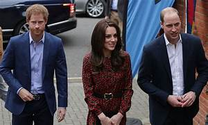 Prince William, Kate Middleton and Prince Harry attend ...