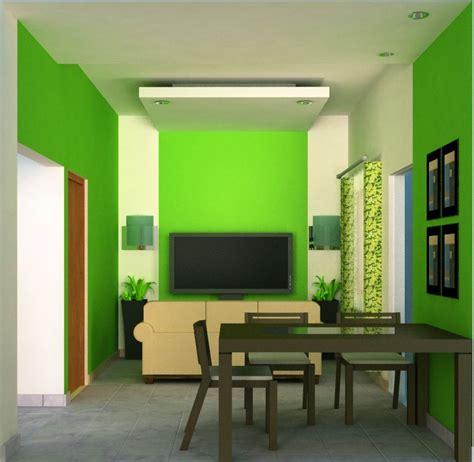 desain rumah cat hijau rumah desain minimalis