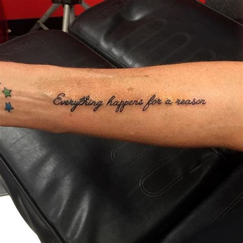 Tatouage Citation  Plus Qu'un Message