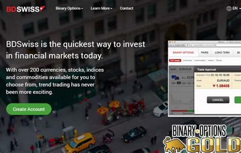 bdswiss review binary options gold