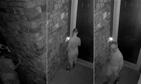 Shocking Colorado Cctv Footage Shows 'peeping Tom' Spying