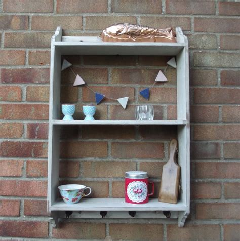 country kitchen wall rack  woods vintage home interiors notonthehighstreetcom