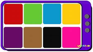 Teach Kids Colors In English  Learn Colors In English