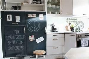Küchenfronten Streichen Erfahrungen : k che streichen aus blau wird weiss wohnkonfetti ~ Frokenaadalensverden.com Haus und Dekorationen