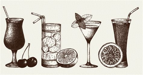 Throw A Retro Cocktail Party With Diy Cocktail Trays