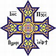 Coptic cross.svg | Orthodox cross, Orthodox, Biblical symbols