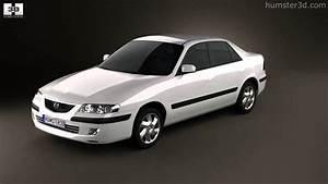 Mazda 626  Gf  Sedan 1998 By 3d Model Store Humster3d Com
