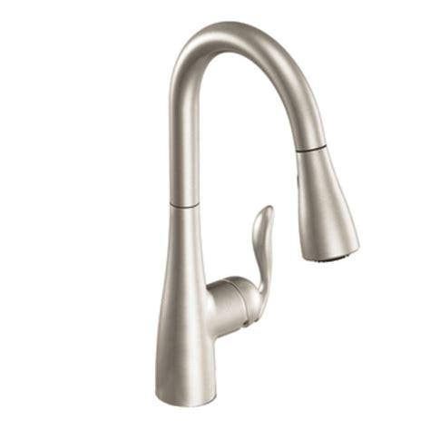 pictures of moen kitchen faucets amazon com moen 7594srs arbor one handle high arc
