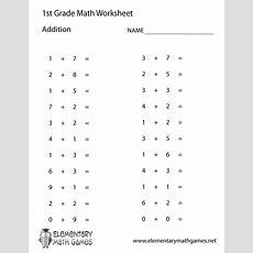 Printable Math Worksheets For Grade 1 Image Worksheet Mogenk Paper Works
