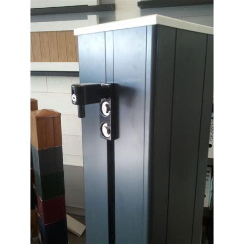 poteau pilier de portail aluminium 198x198