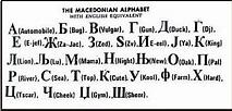 Macedonia: Macedonian Language
