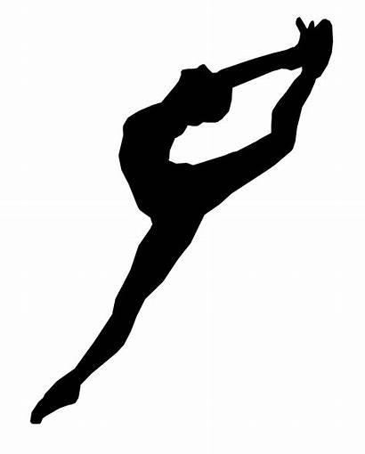 Silhouette Gymnast Handstand Dance Dancer Ballet Class